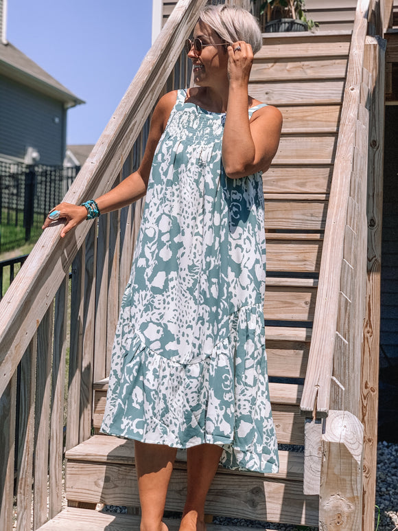 Waves for Days Dress