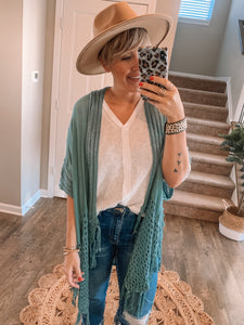 Moon Beams and Daydreams Kimono