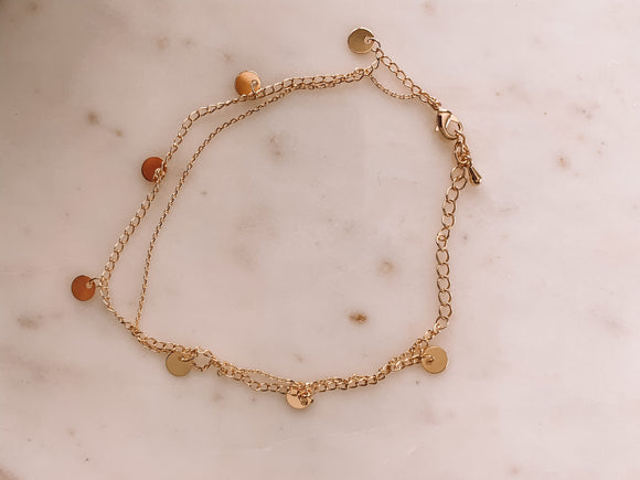 Rounded Beauty Anklet