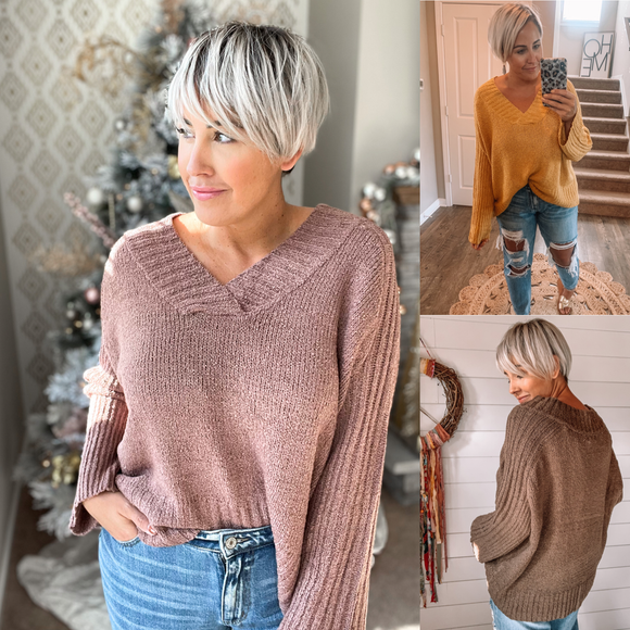Slouchy and Cozy Sweater