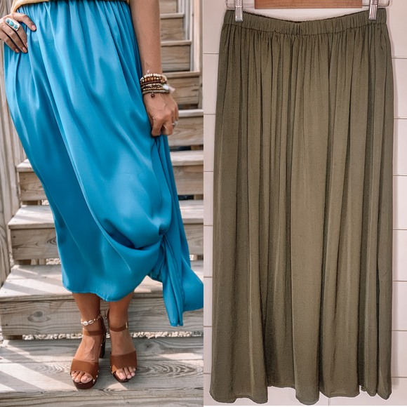 Satin Seas Skirt