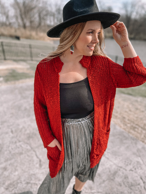 Joy to the World Crochet Cardi