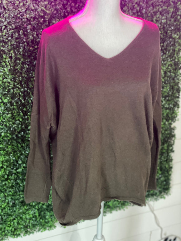 *Army green tunic top- M/L*