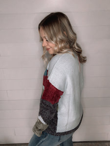 Sky mix sweater