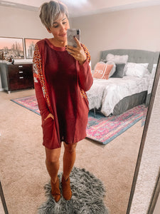 Cranberry Bliss Dress