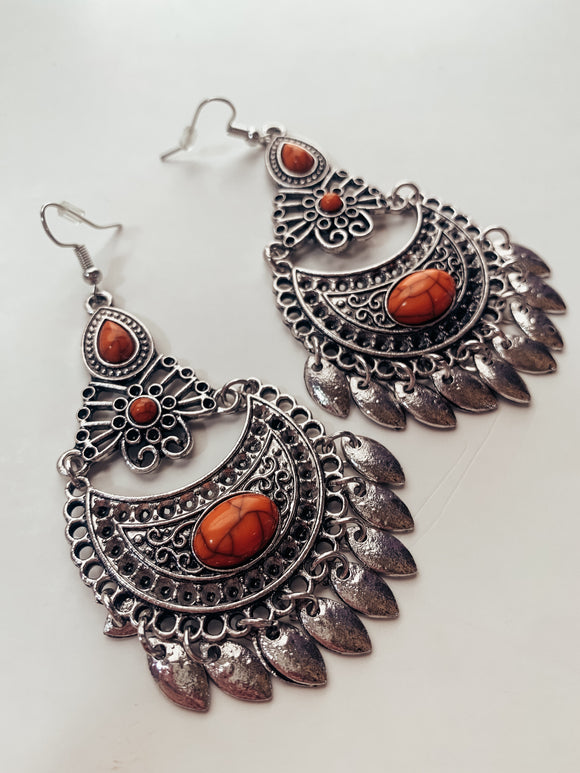 Fire Tribe Earring