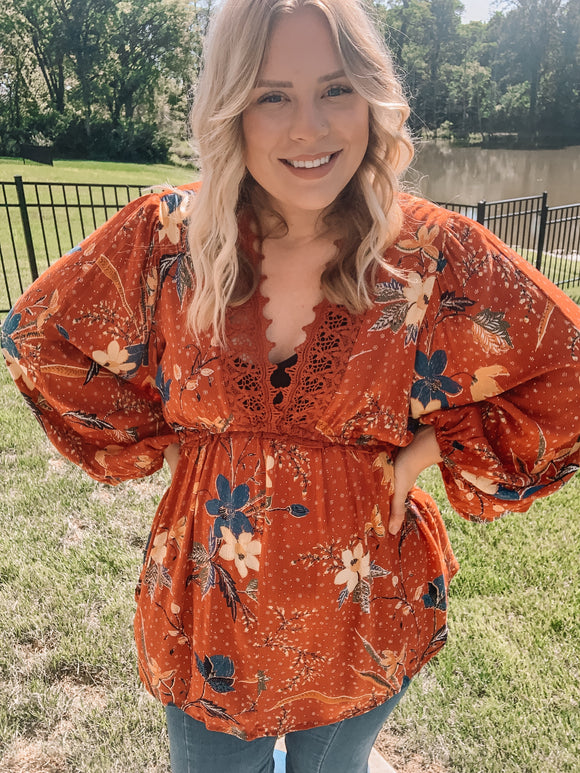 Fall Dreams Top