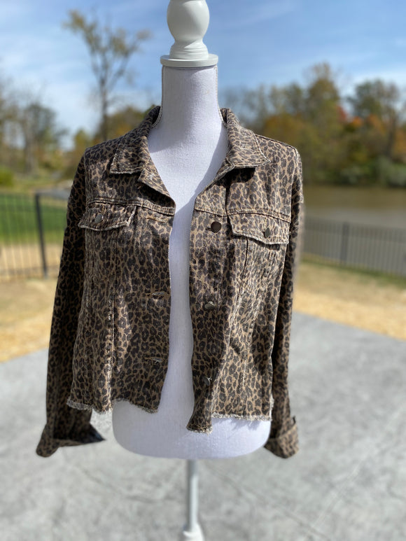 *Leopard Girl Jacket - M*