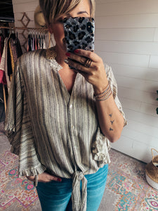 Ruffle Gypsy Top