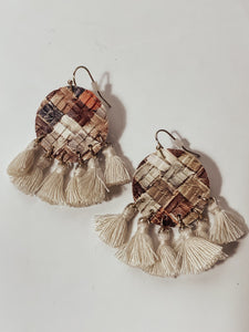 Earth Tassel Earring
