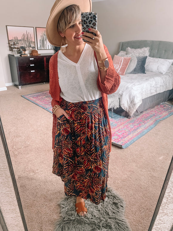 Always Stay on Vacay Skirt