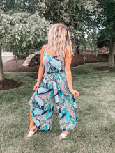 Let's Be Fronds Jumpsuit