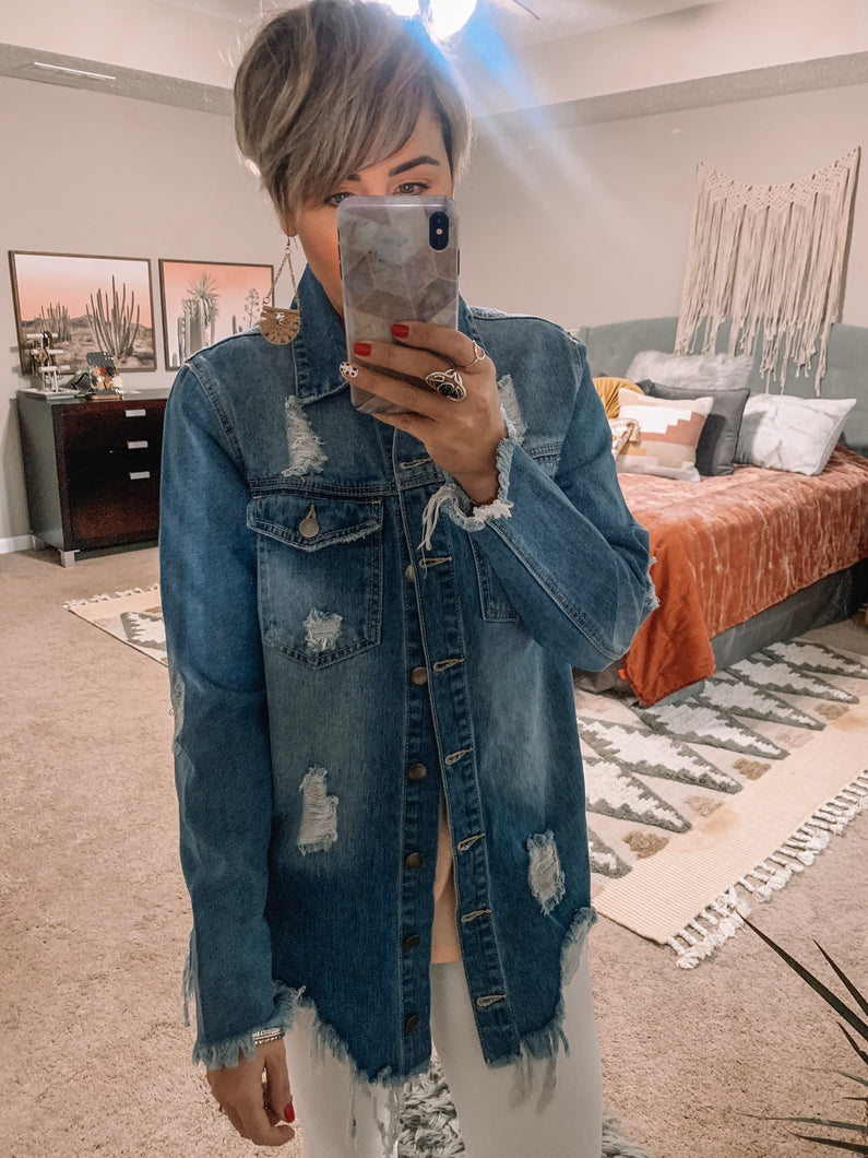 Worn In But Not Out Denim Jacket