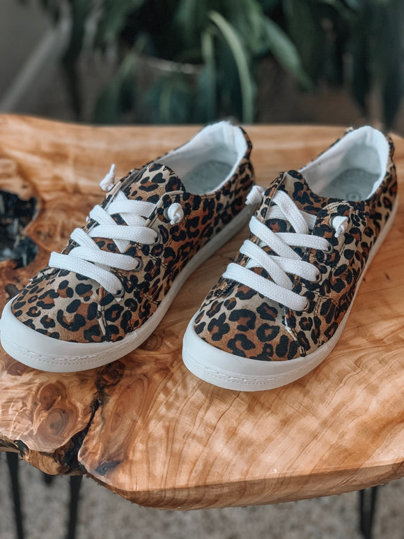 Walk on the Wild Side Leopard Sneaker