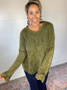 Crochet All Day Sweater