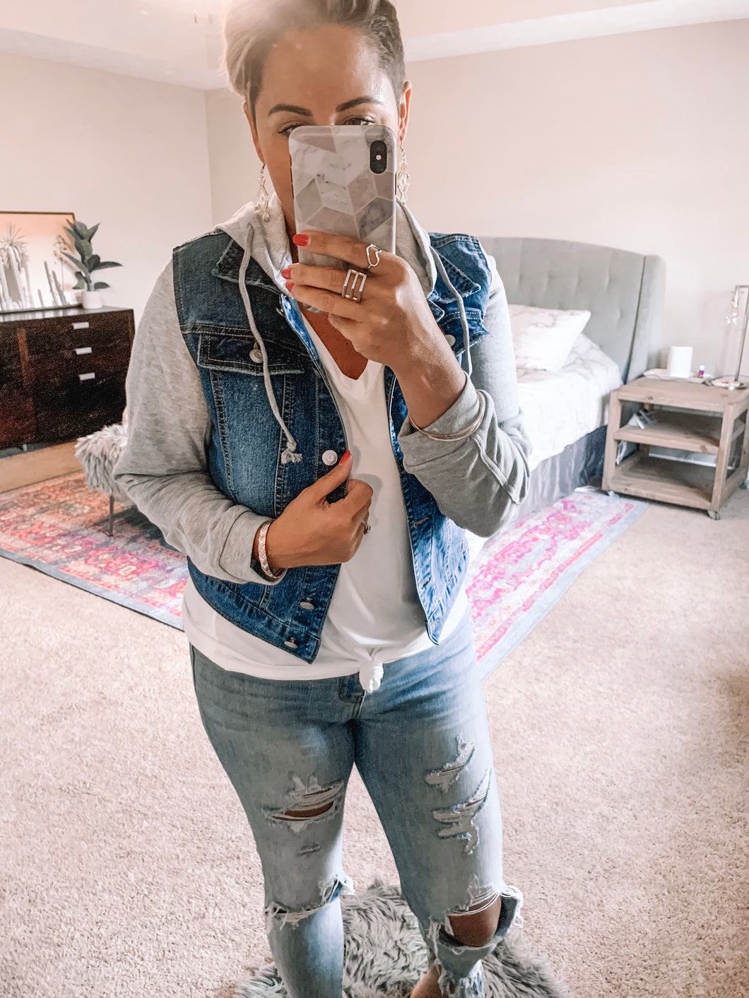 Rebel With A Cause Denim Jacket