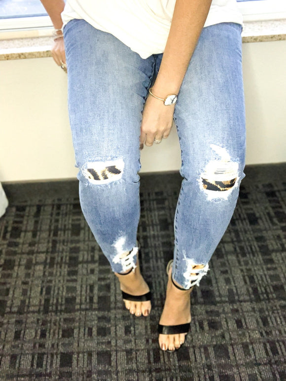 *Let's talk about Leopard Jeans - 11*