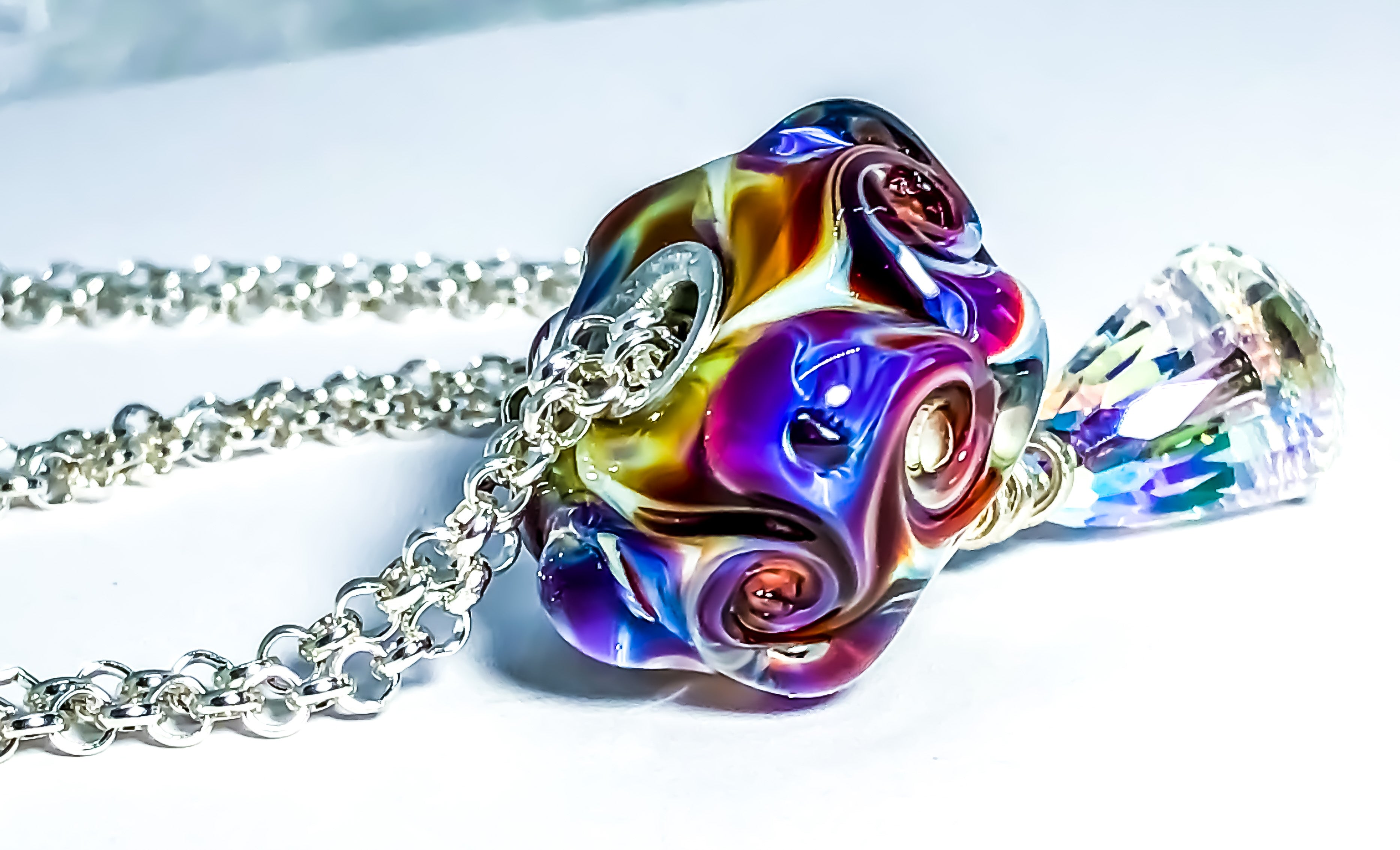 Soleil Bead Helios Necklace