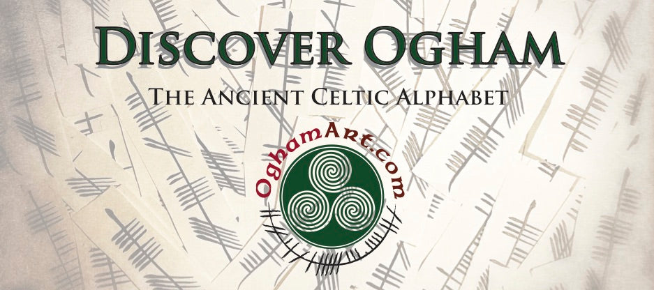 Ogham Irish Celtic alphabet