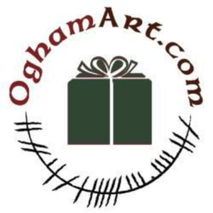 Ogham Art Gift Card