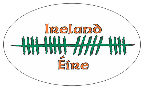 Ogham Art Ireland Eire Bumper Sticker
