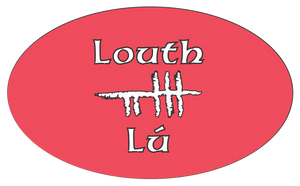 Ogham Art County Lough Ireland Bumper Sticker