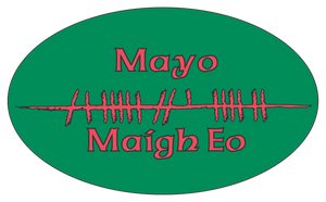 Ogham Art County Mayo Ireland Bumper Sticker