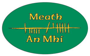 Ogham Art County Meath Ireland Bumper Sticker