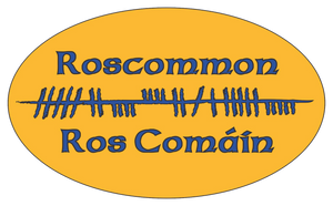 Ogham Art County Roscommon Ireland Bumper Sticker