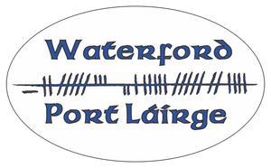 Ogham Art County Waterford Ireland Bumper Sticker