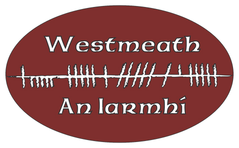 Ogham Art County Westmeath Ireland Bumper Sticker