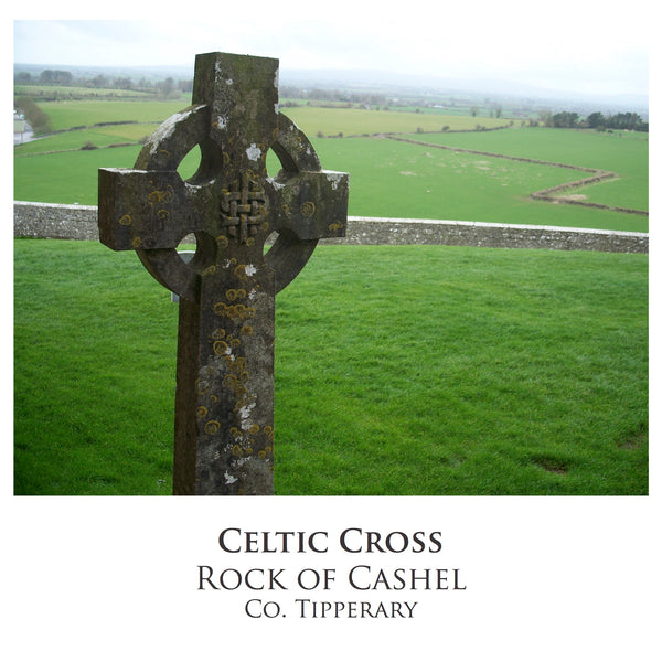Ogham Art Images of Ireland Photo Cards Celtic Cross Rock of Cashel