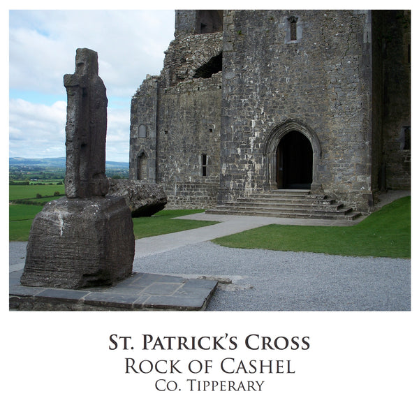 Ogham Art Images of Ireland Photo Cards St. Patrick's Cross Cashel