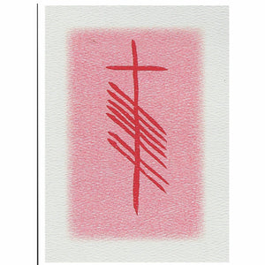 Love Grá Ogham note card