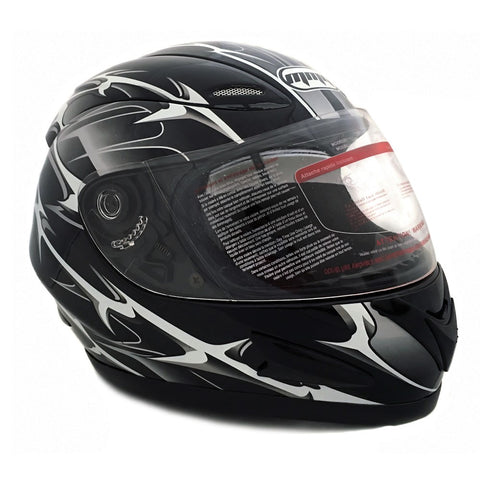 Full Face Helmet with Double Visors