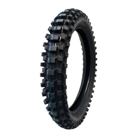 COMBO: Off Road Knobby TIRE Size 120/90-19 + INNER TUBE Size 120/90-19 TR4 Valve Stem