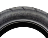 SET OF TWO: Tire 120/70-10 Tubeless Front/Rear
