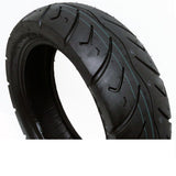 SET OF TWO: Tire 120/70-12 Tubeless Front/Rear Motorcycle Scooter Moped + 2 FREE TR87 Bent Valve Stems