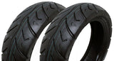 SET OF TWO: Tire 120/70-12 Tubeless Front/Rear