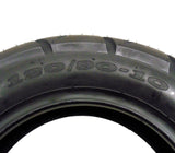 SET OF TWO: Tire Size 120/90-10 (P116) Motorcycle Scooter Tubeless Type Front Rear Street Tread