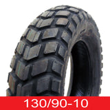 SET OF TWO: Tire 130/90-10 (P126) Tubeless Front/Rear