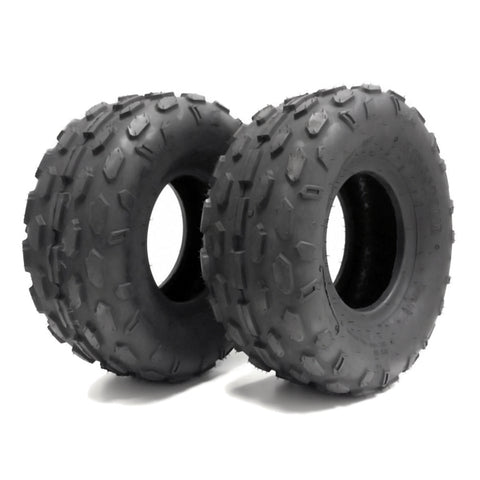 SET OF TWO: ATV Tubeless Tires 145x70-6 (14.5x7x6) P72 - Front or Rear