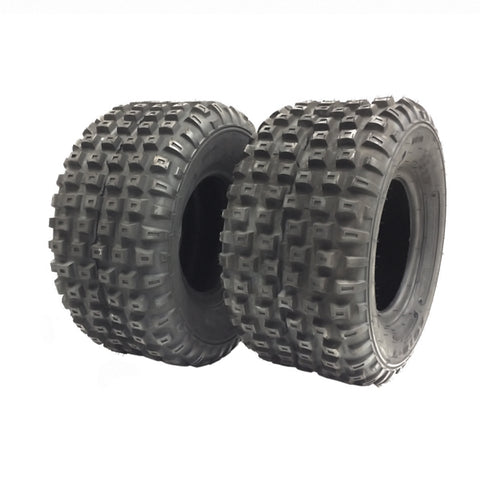 SET OF TWO: ATV Tubeless Type Tires Size: 16x8x7 (16x8-7) (P94) Front or Rear
