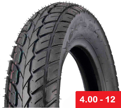 Tire 4.00-12 Tubeless