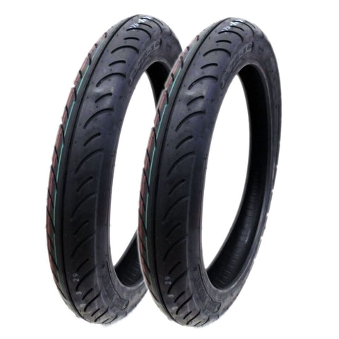 SET OF TWO: Tire 2.75 - 16 (P83) Front/Rear