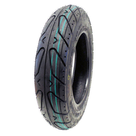 Tire 3.50-10 Tubeless (Black Side Wall). STREET (P124)