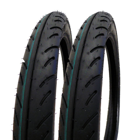 SET OF TWO: Tire 2.50 - 16 (P83) Front/Rear