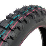 COMBO: Dirt Bike TIRE Size 60/100-12 + INNER TUBE Size 3.00/3.50-12 TR87 Valve Stem