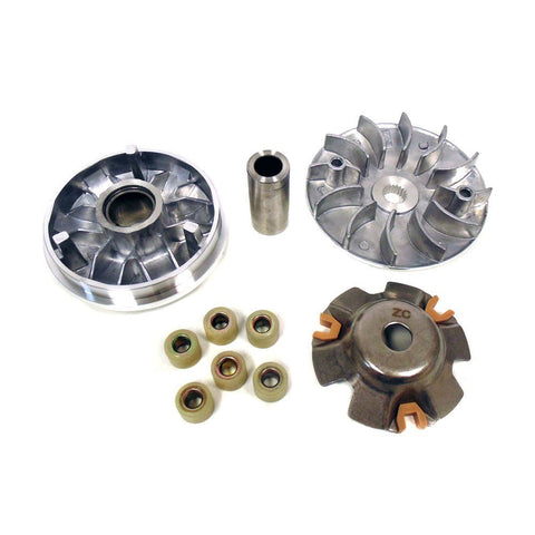 MYK Variator Drive Wheel Assy (CVT) Complete for GY6 150cc 4 stroke engines.
