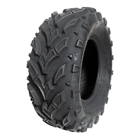 SET OF FOUR (4) ALL TERRAIN Reinforced Tubeless ATV Tire – (2) Front 25x8-12 + (2) Rear 25x10-12